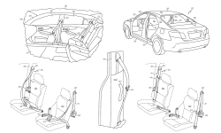 <h5>US PAT no 7,625,011</h5><p>Systems and methods for dampening seat belt latch vibration utility patent for Toyota Motor Engineering & Manufacturing North America, Inc.</p>