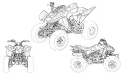 <h5>US PAT# D529,413</h5><p>All terrain vehicle design patent for Honda Motor Company, Ltd.</p>